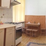 Kitchen with Microwave, electric kettle, dinner table all amenities included