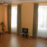 Nice hall and spacious Living room with Cable TV and fold-out sofa-bed, Balcony